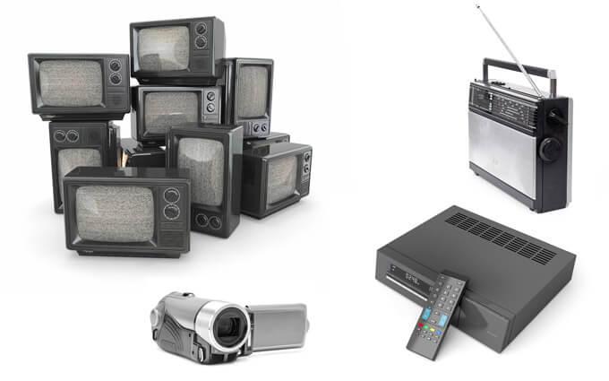 5 aparatos electronicos