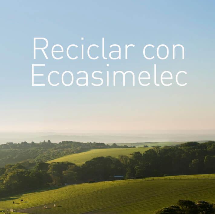 Reciclar con Ecoasimelec