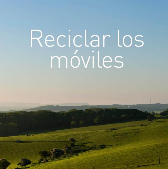 Reciclar los móviles