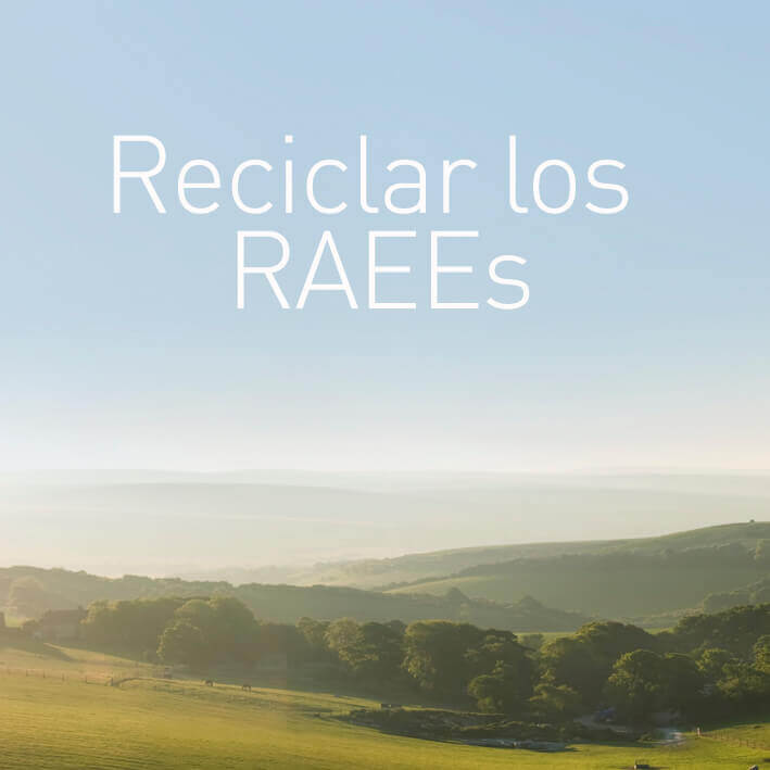 Reciclar los RAEEs