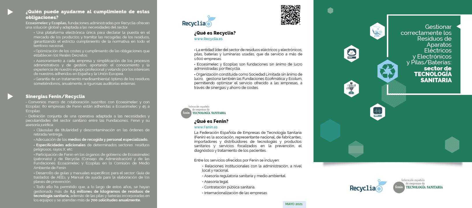 Guía de Traslado de Aparatos Eléctricos y Electrónicos usados en las empresas de Tecnología Sanitaria'