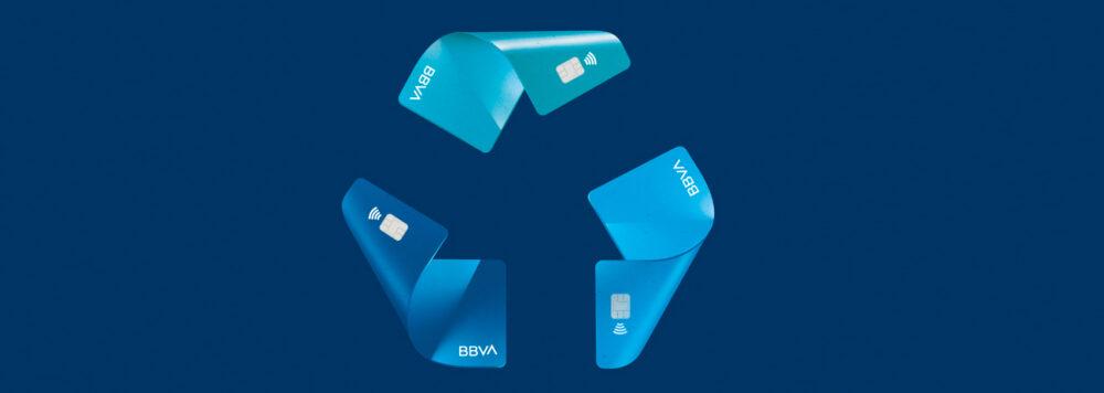 reciclaje de tarjetas BBVA